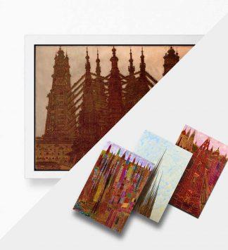 Marcel Storr, peintre clandestin – Pack mini-posters + 3 cartes postales
